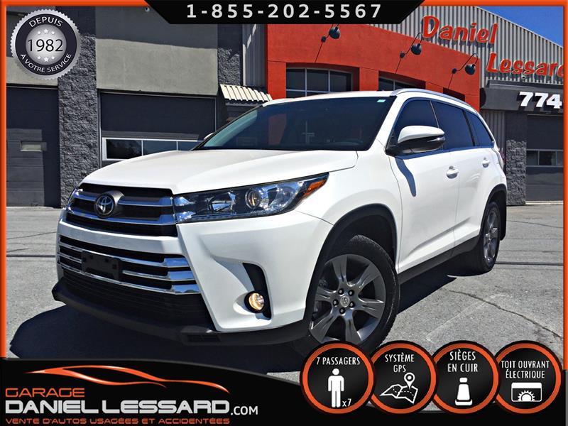 Toyota Highlander 2019 XLE, CUIR 7 PLACES, NAVIGATION, CAMERA ET PLUS ! #90165