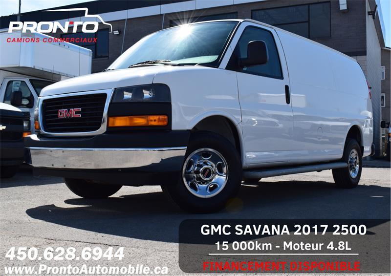 GMC Savana Cargo Van 2017 2500 ** 4.8L ** Gr. Électrique **  Marche pieds ** #1271