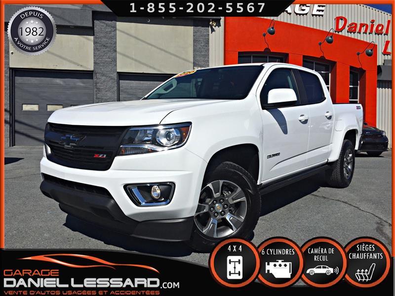Chevrolet Colorado 2020 Z71, CREW CAB, 4WD, CUIR ET TISSUS, BRUME ET +++ #00195