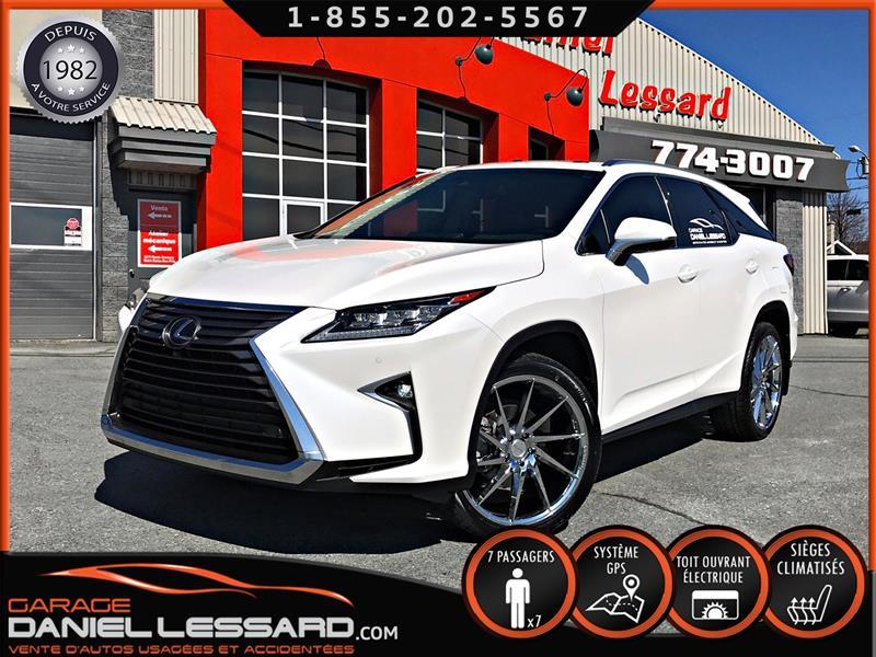 Lexus RX 350 2019 4473KM!!!, RX 350L, 7 PLACES, CUIR, GPS #99716