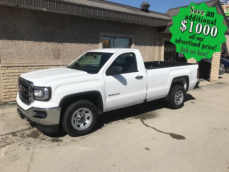 2018 GMC Sierra 1500 2WD Reg Cab ONLY 19,949 KMS! Well equipped/5.3 V/8 #24404