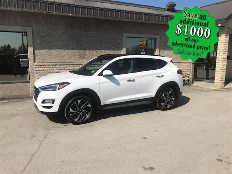 2020 Hyundai Tucson Ultimate AWD  ONLY 6,404 KMS ! Absolutely loaded ! #24406