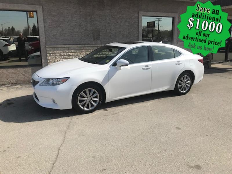 2014 Lexus ES 350 4dr Sdn  Leather/Sunroof/Remote start #24409