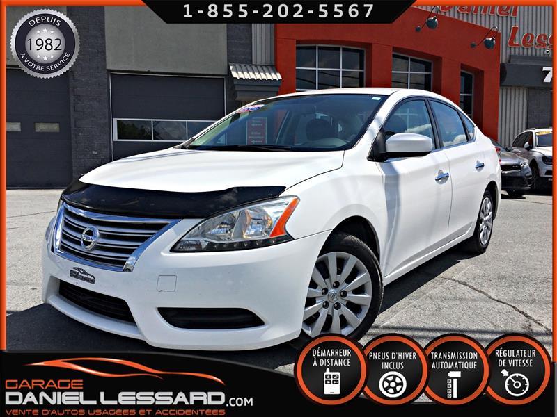 Nissan Sentra 2013 AUTOMATIQUE, A/C, BLANC PERLE #39740