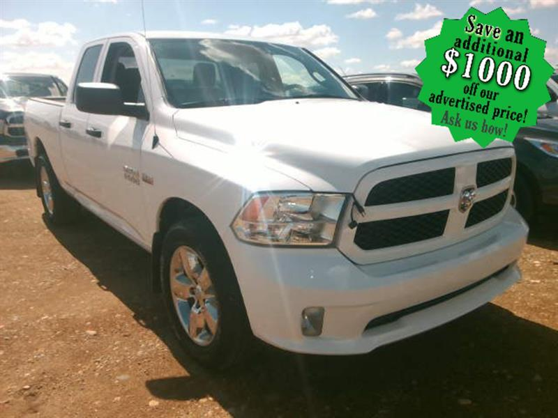 2018 Ram 1500 Express 4x4 Quad Cab * HEMI/CHROME 20s (Incoming) #24408