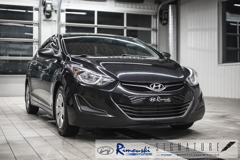 Hyundai Elantra GL chez Rimouski Hyundai 2016