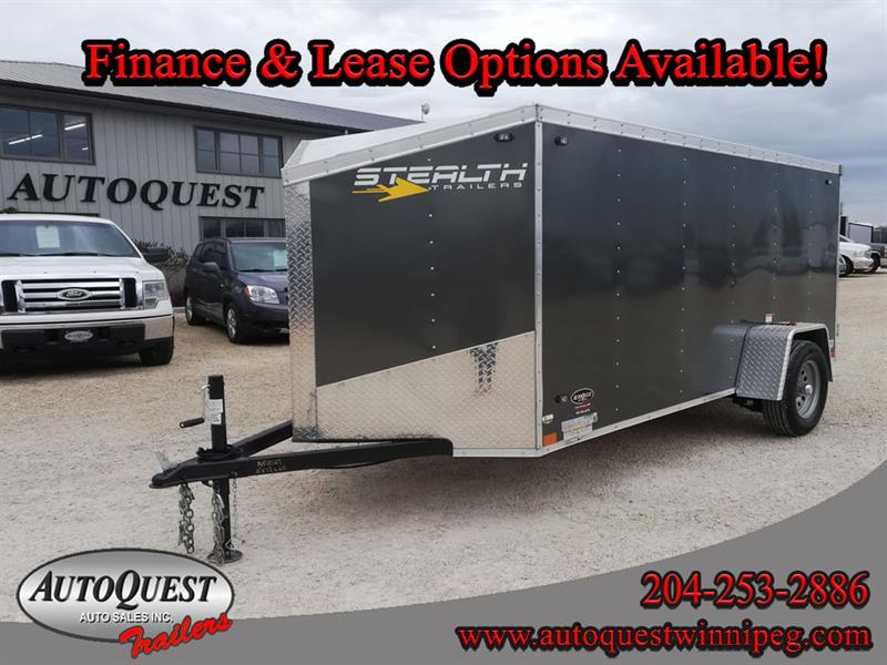 2020 Stealth 5' x 12' V-Nose Cargo Trailer