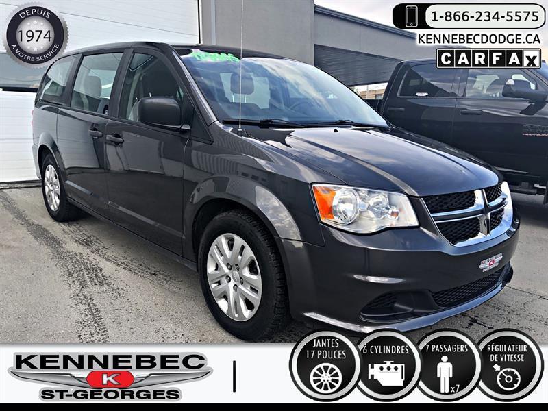 Dodge Grand Caravan 2018 Canada Value Package 2WD #40427A