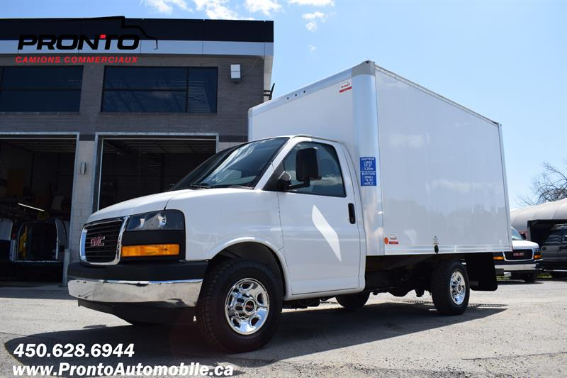 GMC Savana Commercial Cutaway 2018 3500 ** CUBE 12 PIEDS ** ROUE SIMPLE ** 4.3L 6 CYL #PP1282