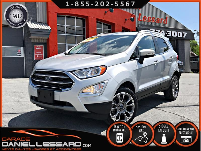 Ford EcoSport 2019 TITANIUM, 2.0, GPS, CUIR, TOIT OUVRANT, MAG 17 P #99746