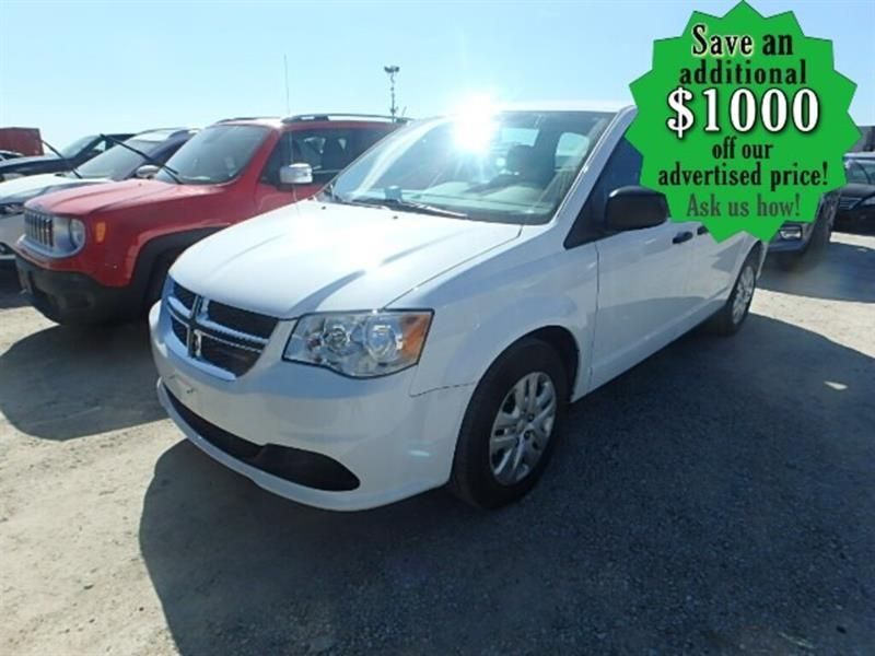 2018 Dodge Grand Caravan Canada Value Package ONLY 7,500 KMS !!! (INCOMING) #24438