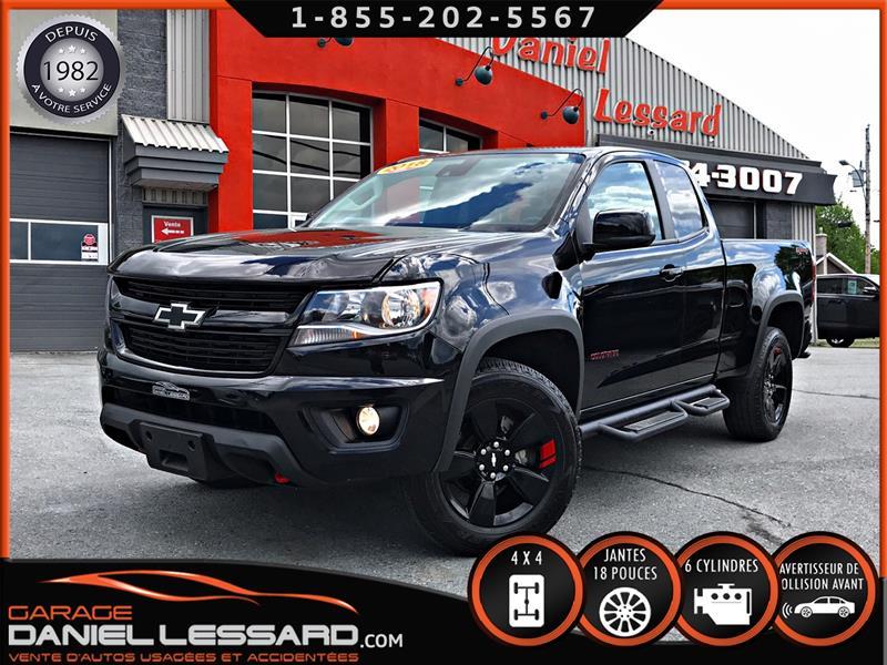 Chevrolet Colorado 2018 REDLINE LT 4X4 3.6 L K-CAB, BOÎTE 6.2, MAGS 18''' #89508