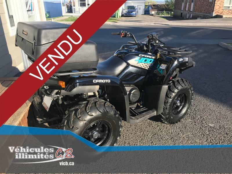CFMOTO CFORCE 400 HO 1 UP 2019