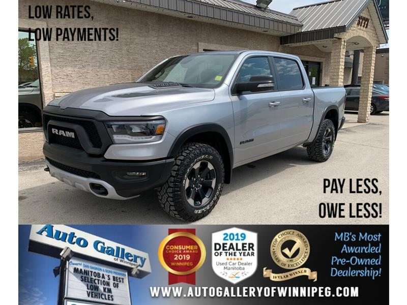 2019 Ram 1500 Rebel 4x4 Crew Cab 5'7  Box #24423