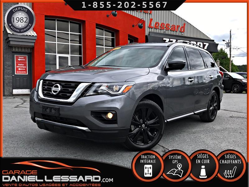 Nissan Pathfinder 2018 08275KM!, MIDNIGHT SL AWD, GPS, TOIT, CAM 360, WOW #89155