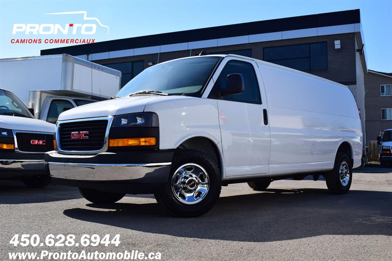 2019 GMC Savana Cargo Van 2500 ** 4.3L ** Allongé ** Transmission 8 vitesses #1284