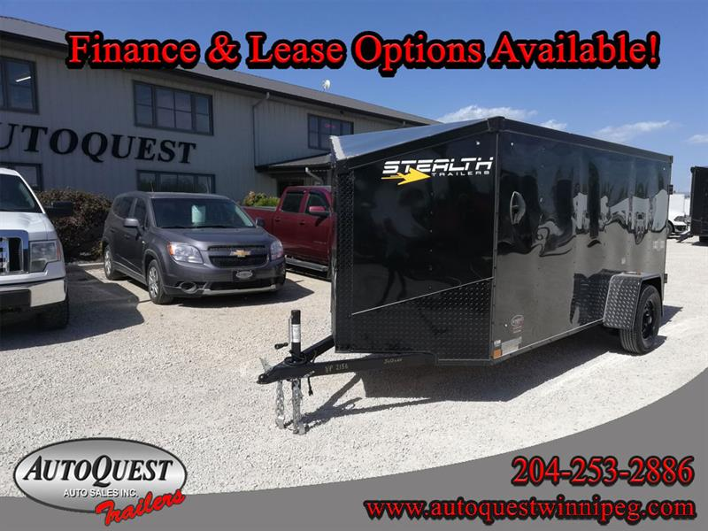 2021 Stealth 5' x 12' V-Nose Cargo Trailer