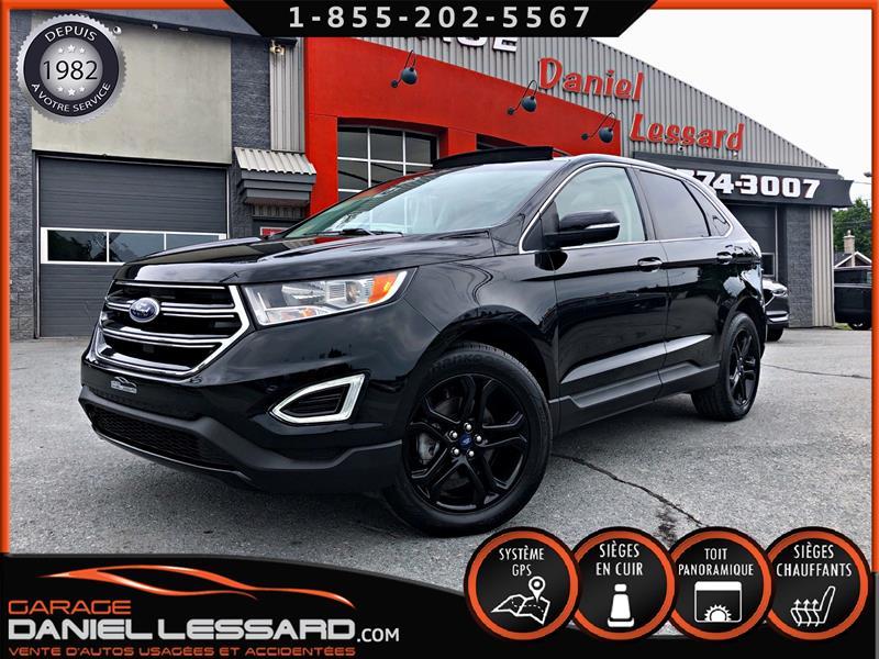 Ford EDGE 2018 17263KM, TITANIUM BLACK ÉDITION, TRACTION AVANT #89787