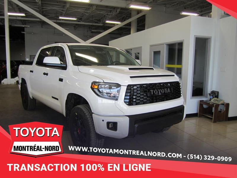 Toyota Tundra TRD PRO DEMO Crewmax 4x4 CUIR/ 2020