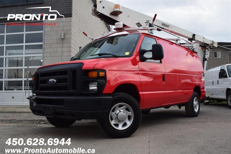 Ford Econoline Cargo Van 2011 BUCKET TRUCK ** E-350 Super Duty ** #1289
