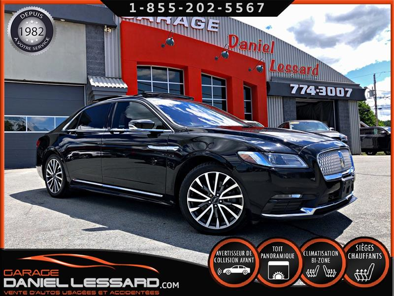 Lincoln Continental 2018 AWD, SELECT,LIQUIDATION!,  ACCIDENTÉ VGA #89340