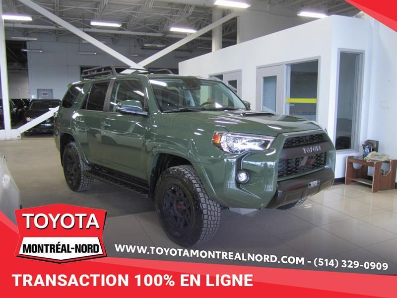 Toyota 4Runner TRD PRO DEMO AWD CUIR/TOIT/NAV 2020
