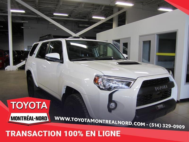 Toyota 4Runner TRD PRO DEMO  AWD CUIR/TOIT/NA 2020