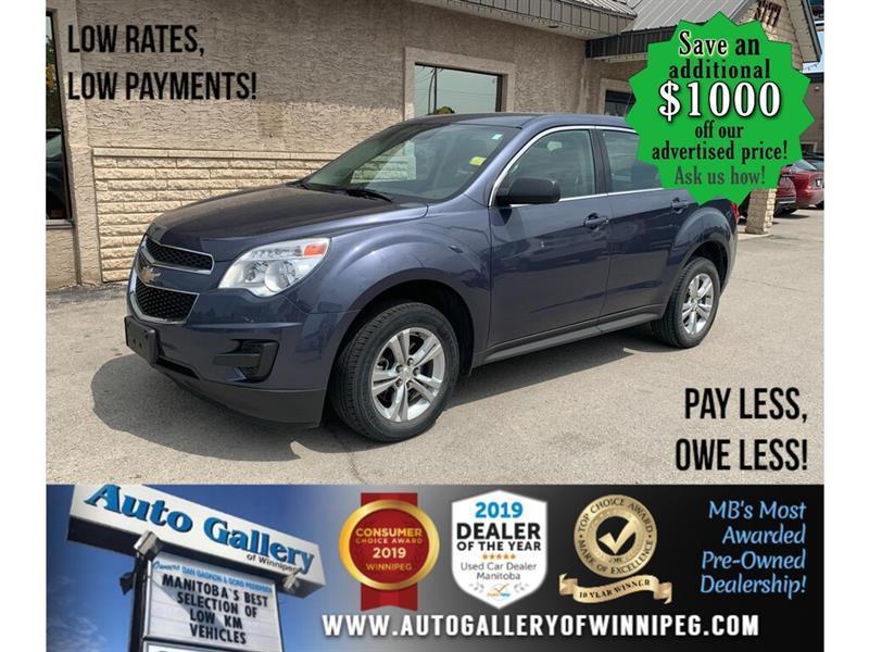 2013 Chevrolet Equinox FWD 4dr LS #24365A