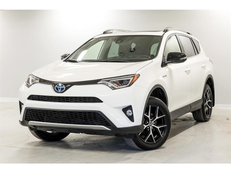 2018 Toyota  RAV4 AWD Hybrid SE - CUIR - TOIT -