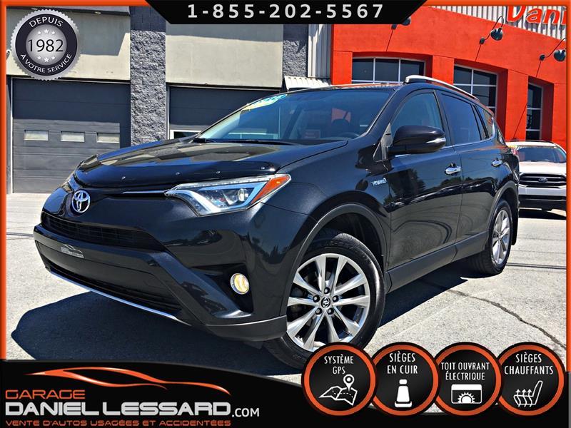 Toyota RAV4 Hybrid 2016 LIMITED, AWD, GPS, CUIR, HAYON MÉCANIQUE ET PLUS.. #60280