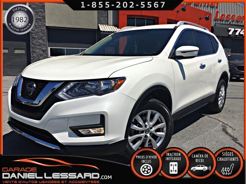 Nissan Rogue 2018 SV AWD, MAG 17 P, CAMÉRA, 8 PNEUS #80289