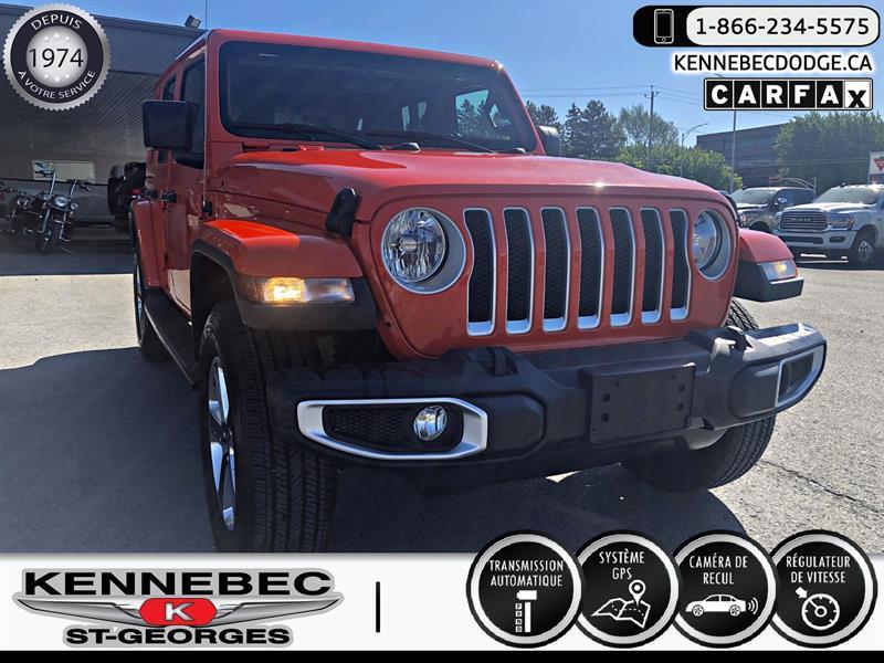 Jeep Wrangler Unlimited 2020 Sahara 4x4 #05269