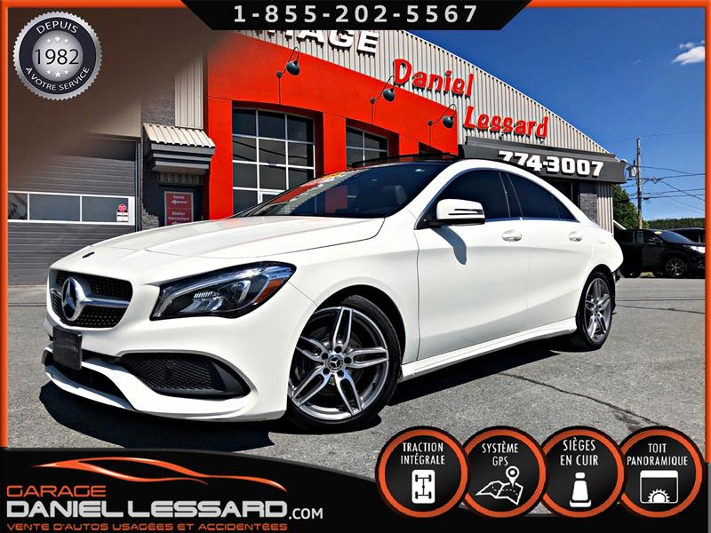 Mercedes-Benz CLA 2018 CLA 250 4MATIC, TOIT PANO, GPS, JANTES AMG 18'', + #80279
