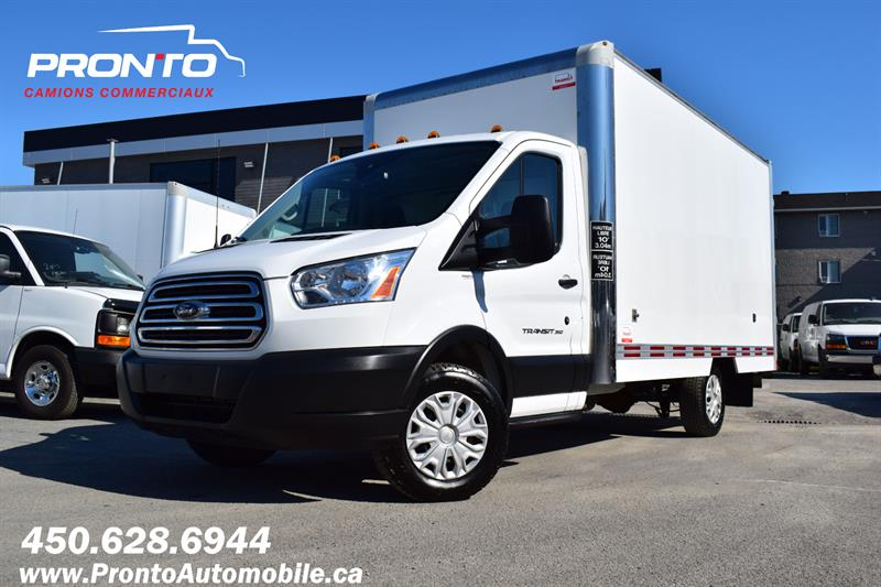 Ford Transit Cutaway 2019 T-350 ** CUBE 14 PIEDS ** PAS D'INSPECTION** #PP-1281