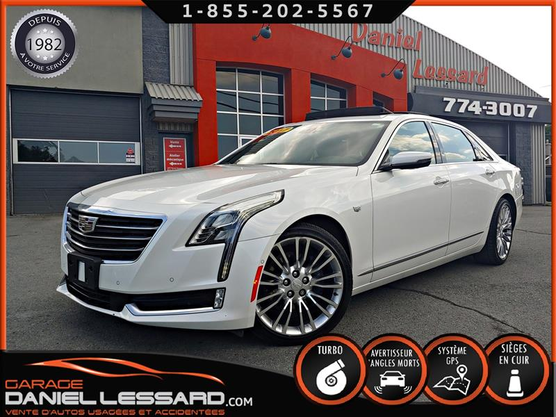 Cadillac CT6 2017 CT6, AWD, GPS, TOIT 360 CAMERA, FULL LOAD #70278