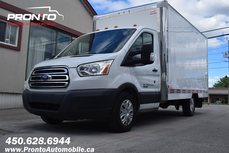 Ford Transit Cutaway 2016 T-350 **DIESEL** CUBE 14 PIEDS ** #1295