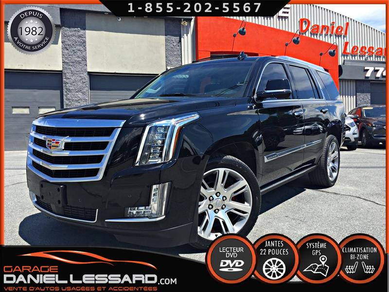 Cadillac Escalade 2015 PREMIUM LUXURY, TV/DVD, MAG POLI 22 POUCES #50230