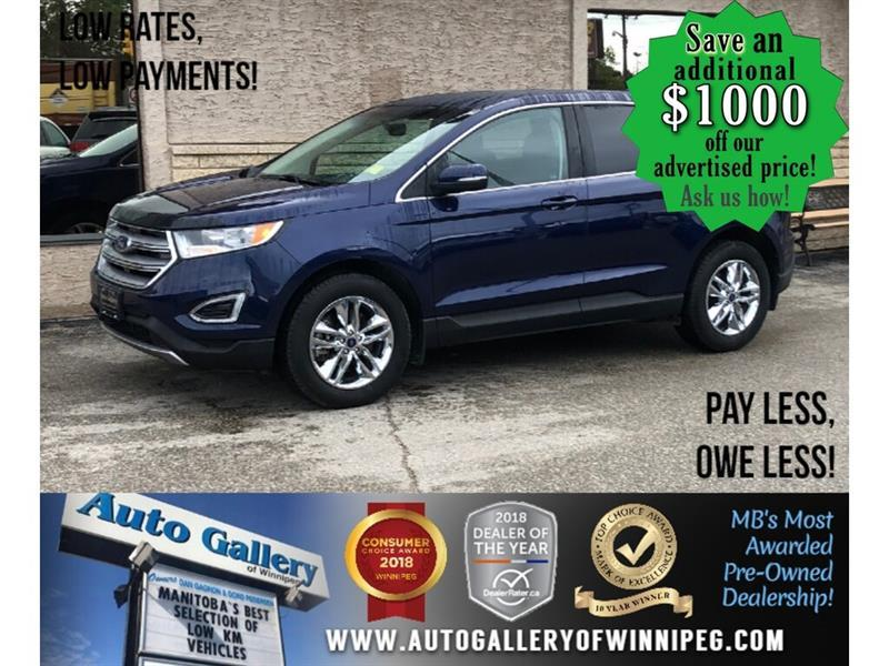 2016 Ford EDGE SEL *Accident Free/AWD/B.tooth/Htd Seats/2.0L #24073