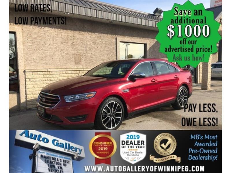 2019 Ford Taurus Limited *AWD/Navi/B.tooth/Back.Cam/Htd Lthr #24343