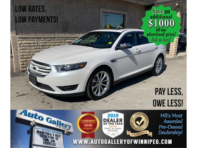 2019 Ford Taurus Limited* AWD/Navi/B.tooth/Htd Lthr/Roof #24187