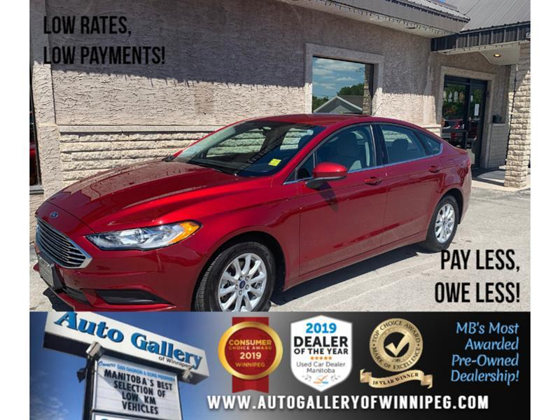 2018 Ford Fusion S *Local MB Unit/Bluetooth/Backup Cam #24312