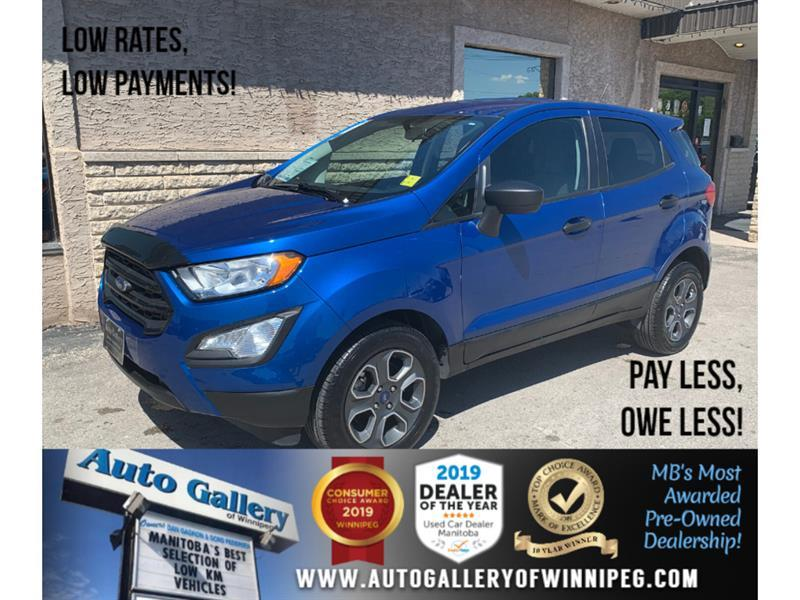 2018 Ford EcoSport S *MB Unit/AWD/B.tooth/Back.Cam #24245