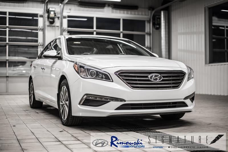 Hyundai Sonata GLS SE chez RImouski Hyundai 2016
