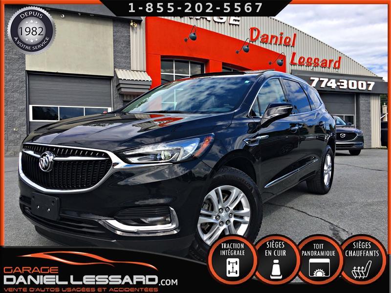 2018 Buick Enclave AWD,CUIR, GPS, TOIT, ACCIDENTÉ A DROITE #80054