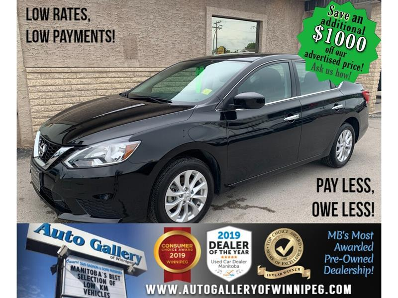 2019 Nissan Sentra SV *B.tooth/Back.Cam/Htd Seats/Roof #24055