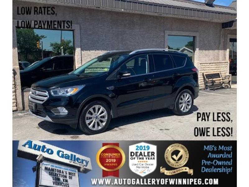 2018 Ford Escape Titanium *AWD/Navi/B.tooth/B.Cam/Htd Lthr/Pano #24291