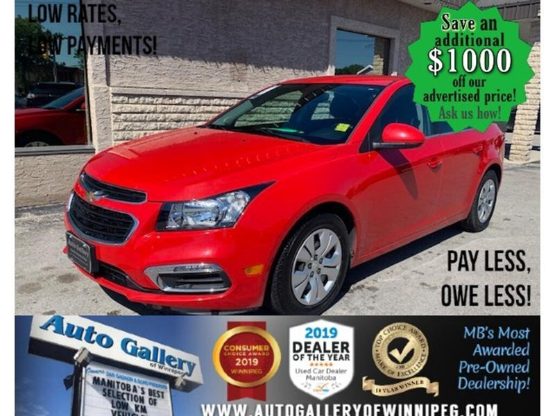 2015 Chevrolet Cruze LT *MB Only Unit/Bluetooth/Back.Cam #24041