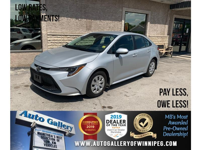 2020 Toyota Corolla L *ONLY 841 KMS !! Basically brand new. #24402