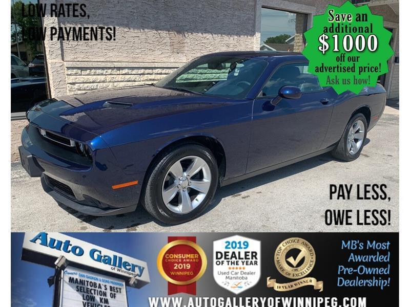 2015 Dodge Challenger 2dr Cpe SXT #24474