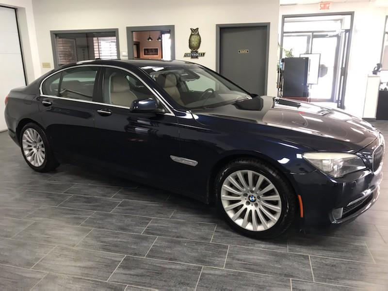 BMW 7 Series 2012 7 SERIES 4dr Sdn X-Drive AWD #CC396950